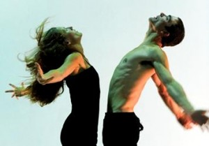Billy Marchenski and Alison Denham in 'AdamEve/ManWoman' by Alvin Erasga Tolentino, Photo by Chris Randle
